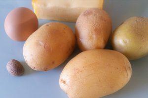 Zutaten für Kartoffelrösti