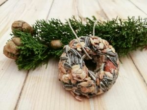 Vogelfutter aus der Küche - Meisenknödel und Futterringe selbst herstellen -
