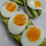 Avocado Eier Brot