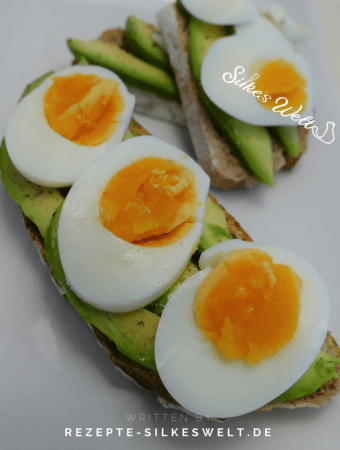 Avocado Eier Brot