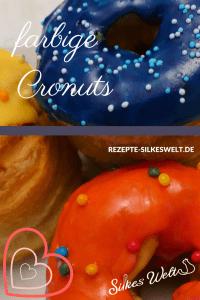 farbenfrohe Cronuts