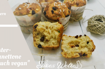 Oster Panettone traditionell und vegan