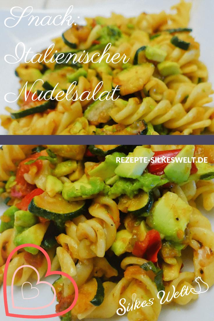 italienischer Nudelsalat mit Avocado