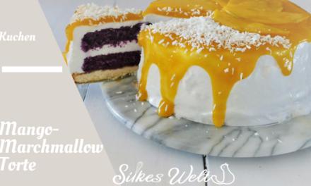 Mango-Marshmallow Torte