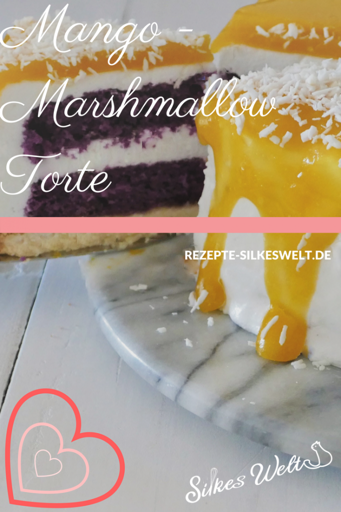 mango Marshmallow Torte