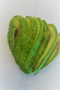 Avocado geschnitten