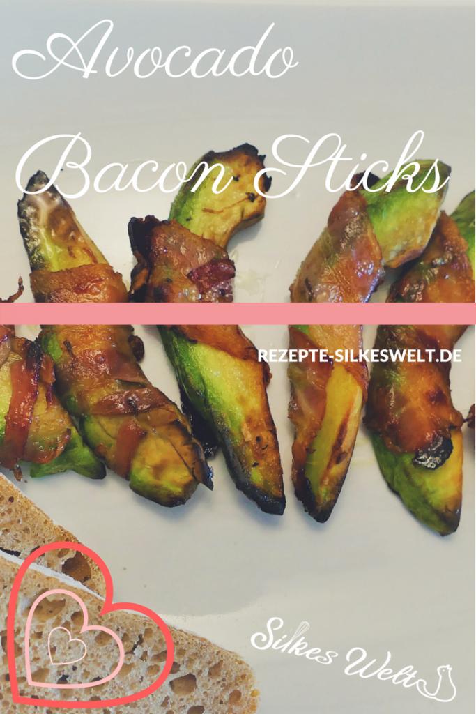 Avocado Bacon Sticks