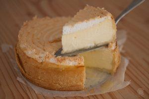 Goldtröpfchen Torte - Käse-Baiser-Torte