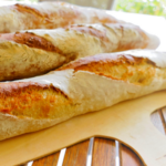 Baguette mit Hefewasser Herstellung