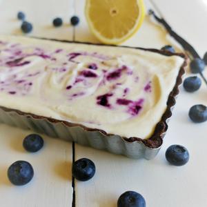 Heidelbeer-Cheesecake Tarte