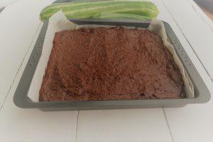 Zucchini Brownie Teig