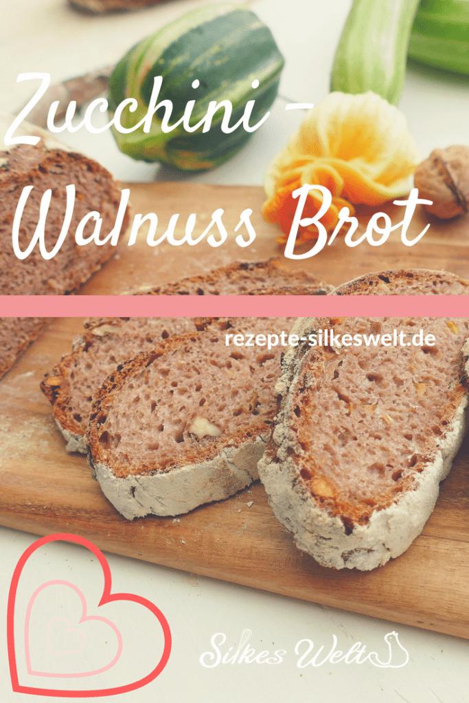 Zucchini-Walnuss Brot