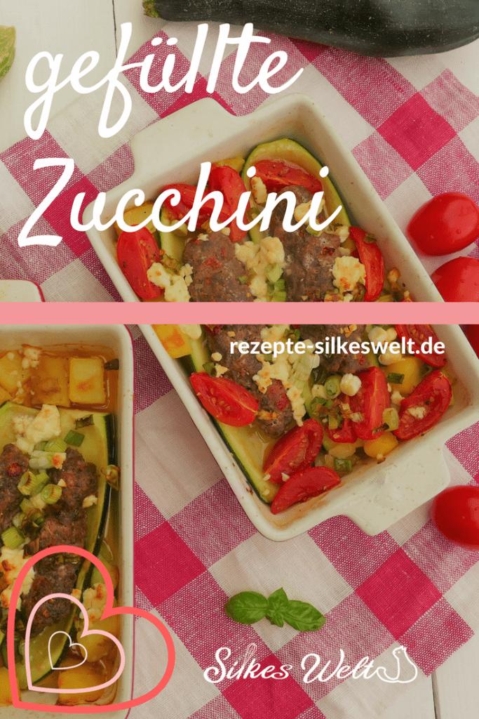 Zucchini gefüllt