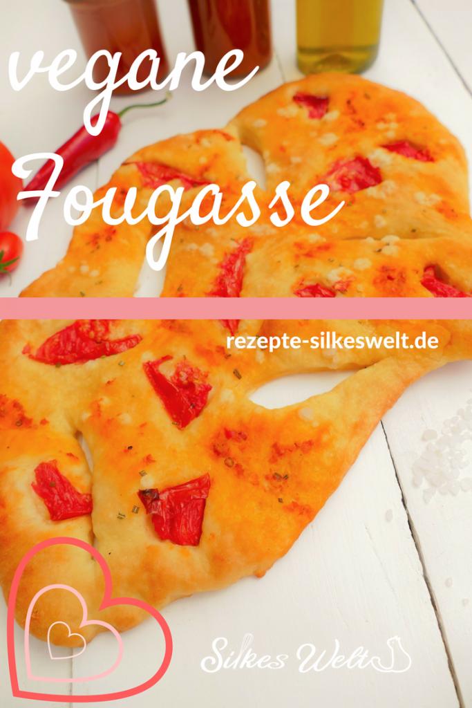 vegane Fougasse