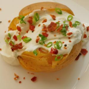 Snack Kartoffeln mit Quark