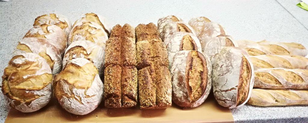 Brotbackkurs in der Stettfelder Mühle