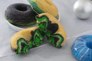 Donuts im Zebralook