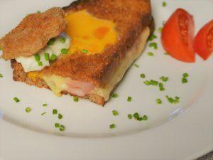 Käse Schinken Sandwich