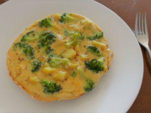 Tortillia de patatas mit brokkoli