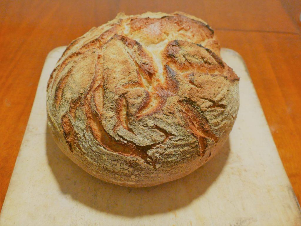 einfaches Brotbacken