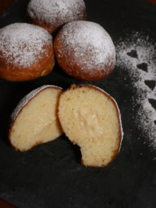 Berliner backen