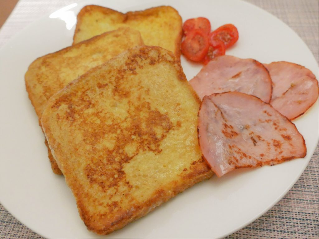 Toast mit Ei - French Toast