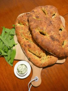 Fougasse backen