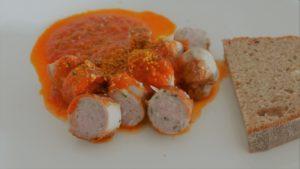 Rezept für Currywurst