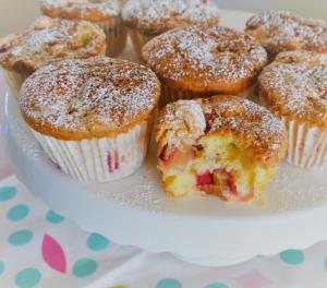 Rhabarber Minikuchen