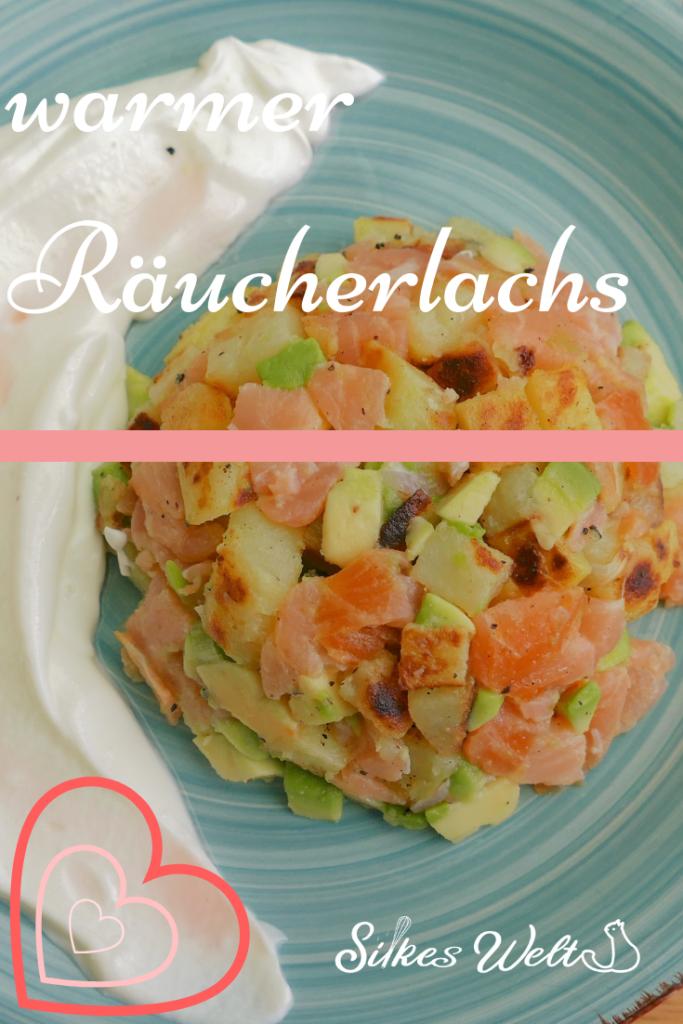 Snack mit Lachs
