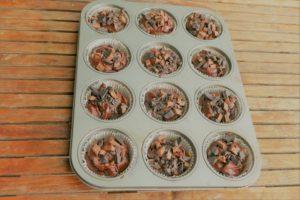 Muffins mit viel Schokolade