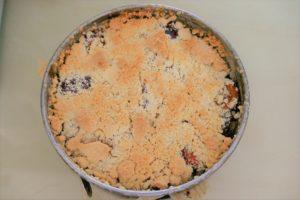 Zwetschgenkuchen ohne Backpulver oder Mehl