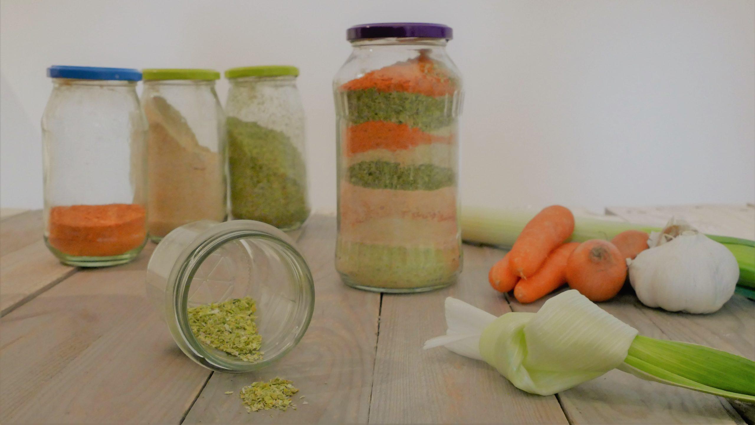 Gekörnte Gemüsebrühe