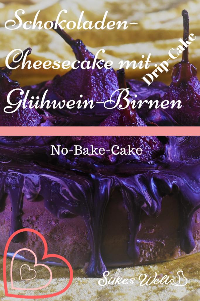 wie backe ich einen Schokoladen-Cheesecake