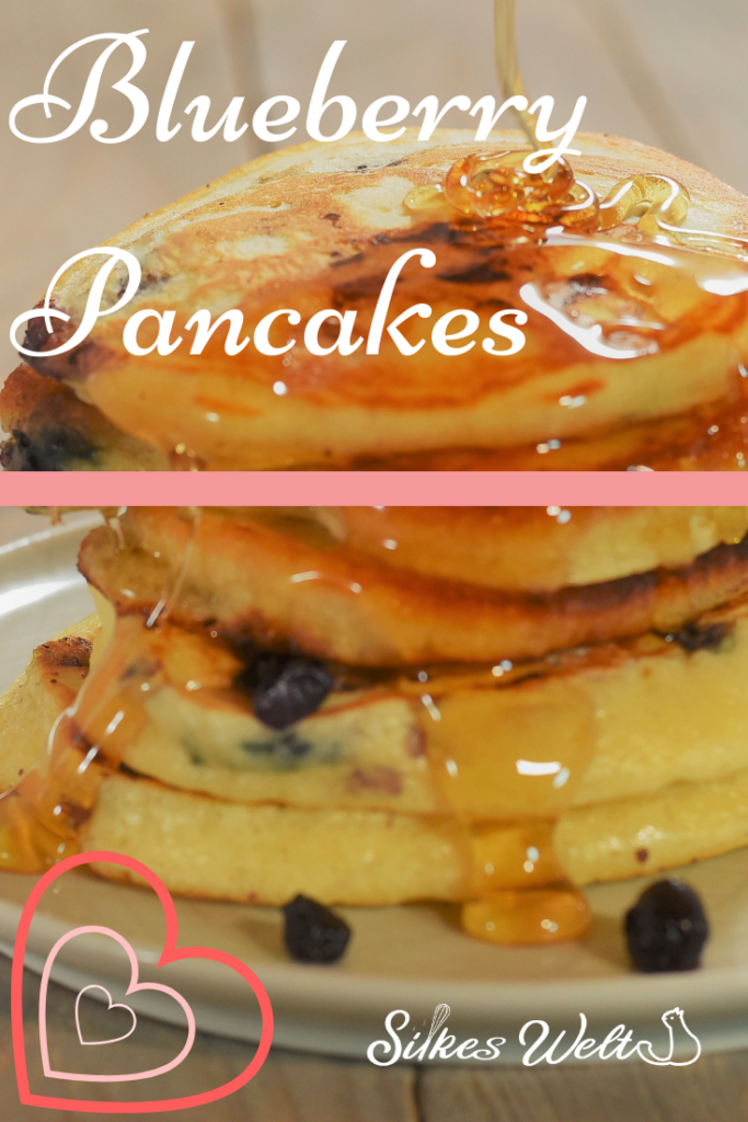 Blueberry pancakes Rezept