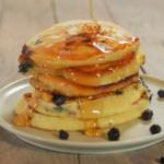 Heidelbeer pancakes