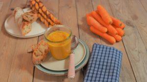 vegane Karotten-Ingwer Suppe