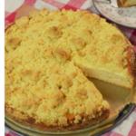 veganer Pudding-Streuselkuchen