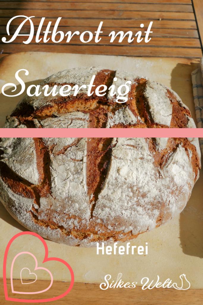 Hefefreies Brot aus getrocknetem Brot herstellen