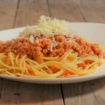 wie mache ich eine vegane Bolognese