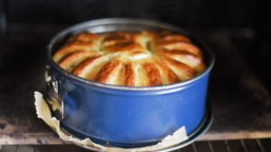 einfacher Hefekuchen