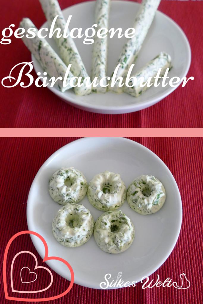 Rezept für geschlagene Butter mit Bärlauch