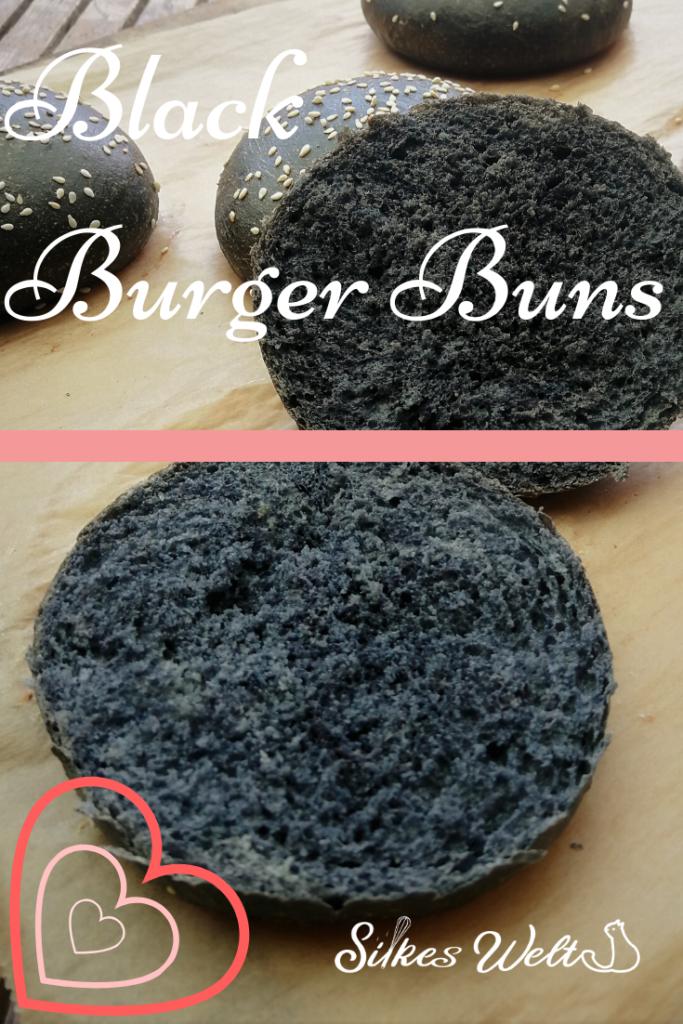 Rezept für black burgerbuns