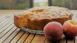 Rührkuchen mit Pfirisch