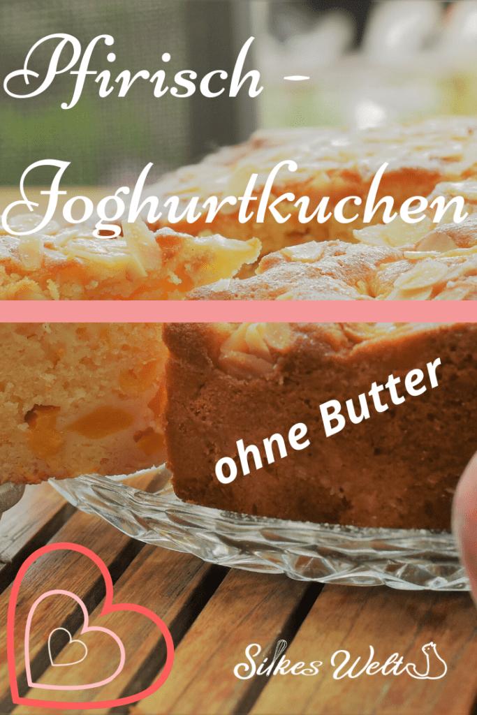 Rezept für Pfirsich-Joghurtkuchen