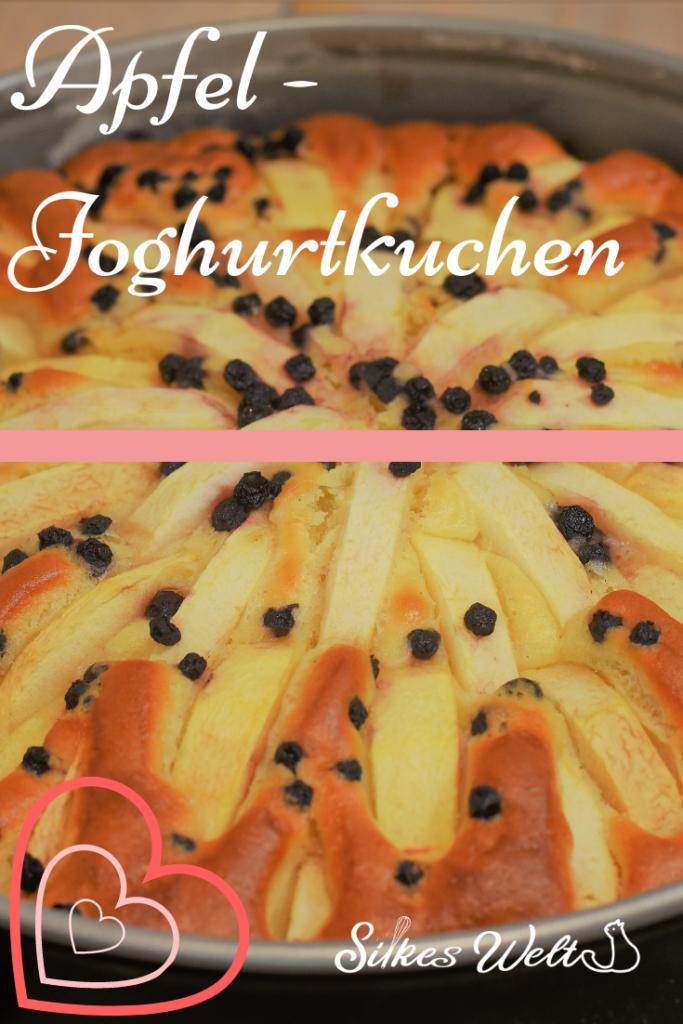 Joghurtkuchen mit Apfel