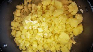 Lach- Kartoffelsuppe vegan
