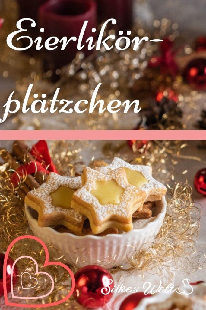 Zarte Eierlikör-Plätzchen - Rezept von Silkes Welt | SCCC 2020: Türchen Nr. 15 | Gewinnspiel