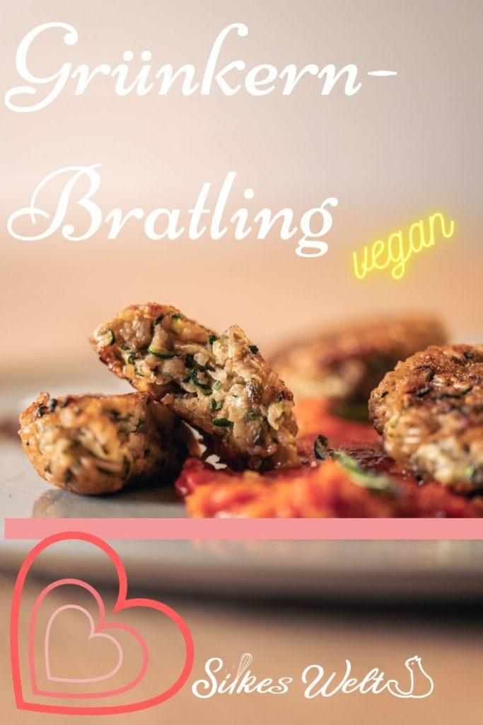 Rezept Grünkernbratling vegan