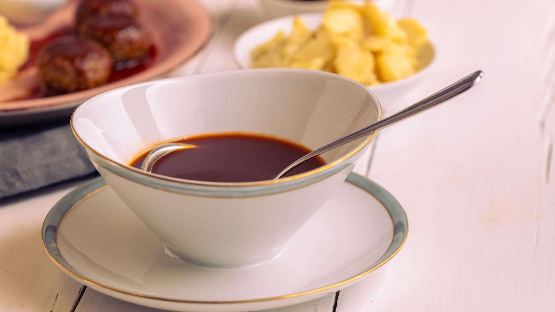 Vegane braune Sauce